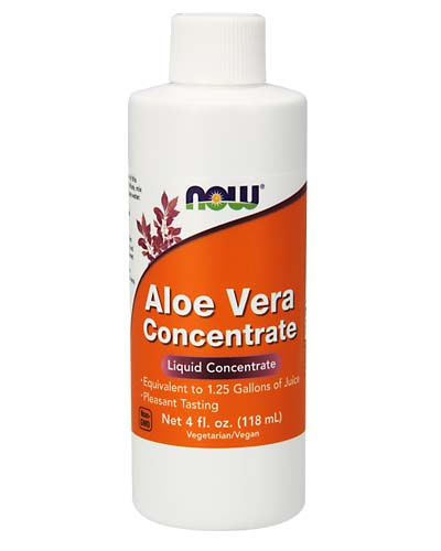 Aloe Vera Concentrate NOW 4 oz 118 мл