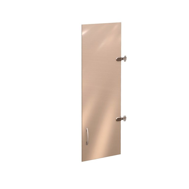 Двери стеклянные (на 3 секции) «Рубин» лев/прав