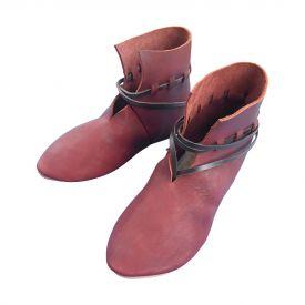 Ботинки Славянские IX-XI вв темные