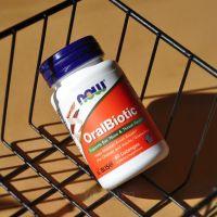 Now Foods OralBiotic Оралбиотик, 60 пастилок