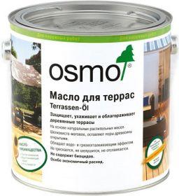 Масло для Террас Osmo Terrassen-Ole 0.125л  Бесцветное, Шелковисто-Матовое / Осмо