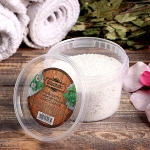 """Солевой скраб """"Добропаровъ"""" из белой каменной соли с маслом пихты и травами, 550 гр 4162183"""