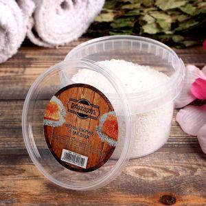 """Солевой скраб """"Добропаровъ"""" из белой каменной соли с мёдом, 550 гр 4162181"""