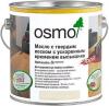 Масло с Твердым Воском 2.5л Osmo Hartwachs-Ol Rapid с Ускоренным Временем Высыхания Шелковисто-Матовое, Матовое