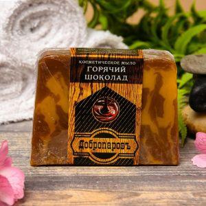 """Косметическое мыло для бани и сауны """"Горячий шоколад"""", """"Добропаровъ"""", 100 гр.   2921994"""