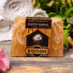 """Косметическое мыло для бани и сауны """"Капучино"""", """"Добропаровъ"""", 100 гр.   2921998"""