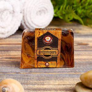 """Косметическое мыло для бани и сауны """"Кофе с корицей"""", """"Добропаровъ"""", 100 гр.   2922000"""