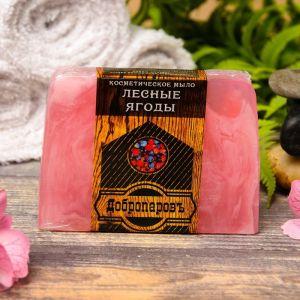 """Косметическое мыло для бани и сауны """"Лесные ягоды"""", """"Добропаровъ"""", 100 гр.   2922002"""