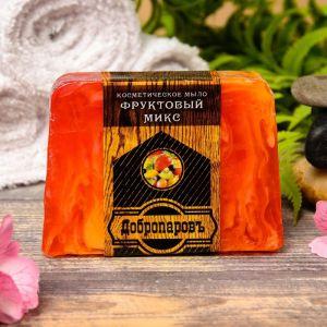 """Косметическое мыло для бани и сауны """"Фруктасия"""", """"Добропаровъ"""", 100 гр.   2922013"""