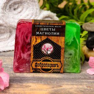 """Косметическое мыло для бани и сауны """"Цветы магнолии"""", """"Добропаровъ"""", 100 гр.   2922015"""