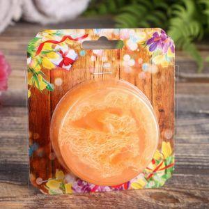"""Мыло с мочалкой из люфы """"Тропический апельсин"""", """"Добропаровъ"""", 100 гр 3023558"""