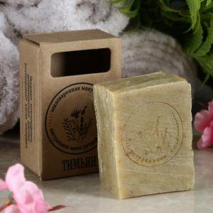 """Натуральное крафтовое травяное мыло """"Тимьян"""" в коробке, """"Добропаровъ"""", 100 г   4408360"""