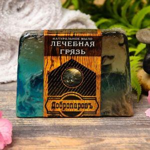 """Натуральное мыло для бани и сауны """"Лечебная грязь"""" 100гр   2922026"""