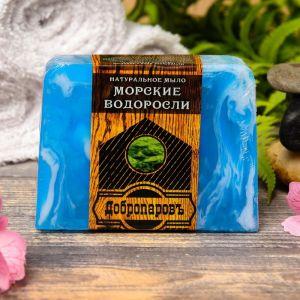 """Натуральное мыло для бани и сауны """"Морские водоросли"""" 100гр   2922025"""