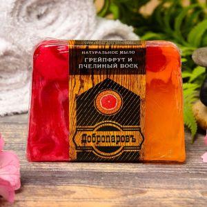 """Натуральное мыло для бани и сауны """"Пчелиный воск -Грейпфрут"""" 100гр   2922036"""