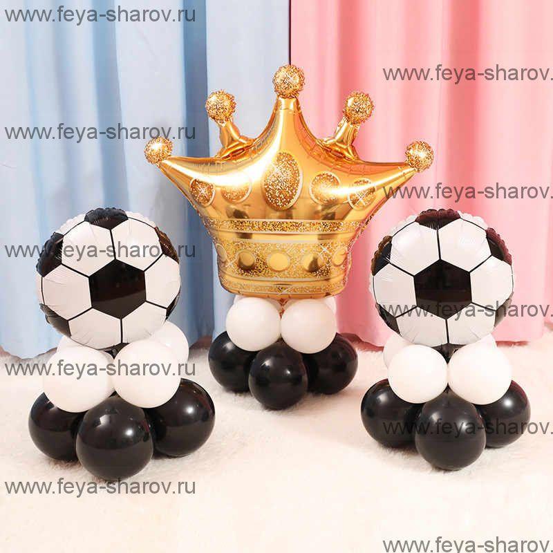 Композиция Футбольные мячи