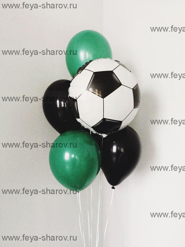 Фонтан шаров Футбольный мяч