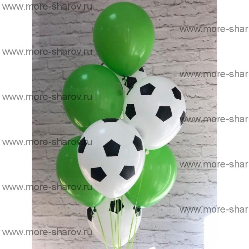 Фонтан шаров Футбол