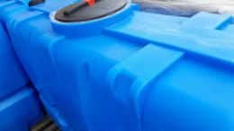 Емкость для топлива SK oil 2000 литров синий