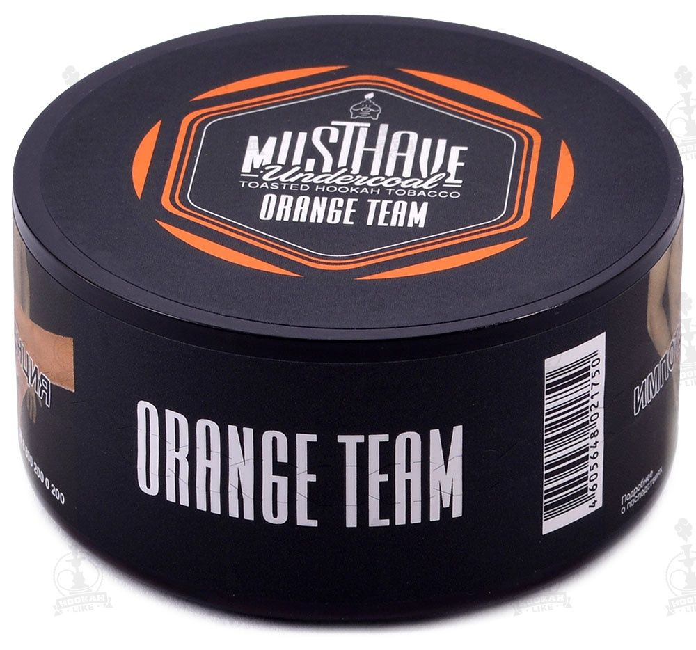 Табак Must Have - Orange Team (Оранжевая Команда, 250 грамм)