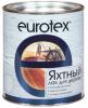 Лак Яхтный Eurotex 0.75л Алкидно-Уретановый Глянцевый, Полуматовый / Евротекс