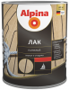 Лак Палубный Alpina 10л Алкидно-Уретанновый Шелковисто-Матовый для Внутренних и Наружных Работ / Альпина Палубный
