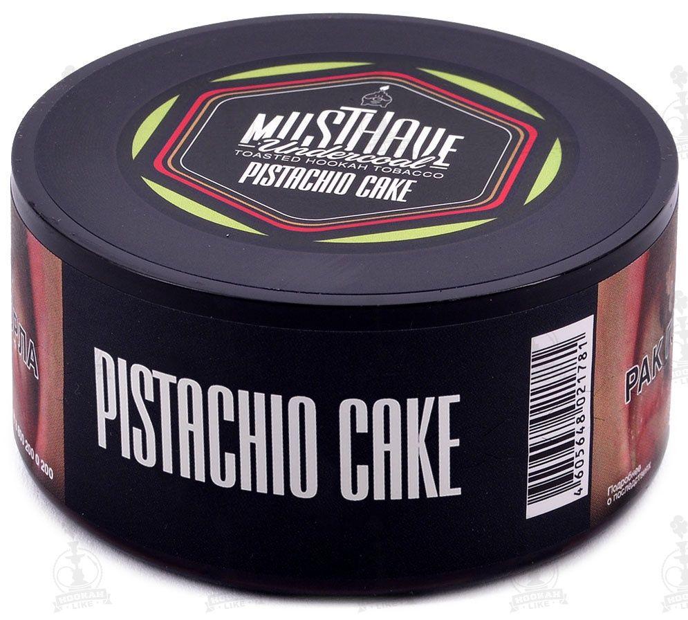 Табак Must Have - Pistachio Cake (Фисташковый Пирог, 250 грамм)