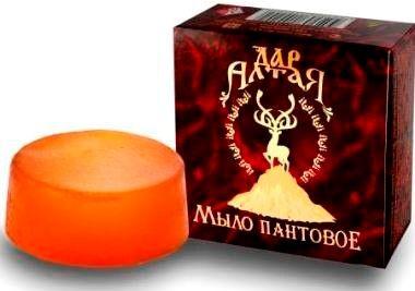 Мыло Пантовое С Маслом Пачули  80 Грамм