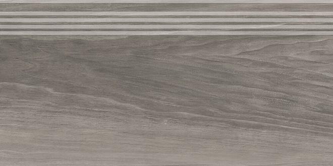 SG226400R/GR | Ступень Слим Вуд серый обрезной