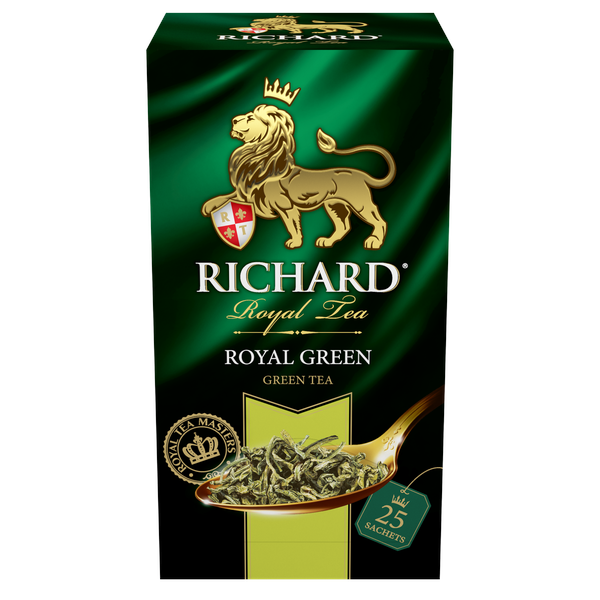 Чай Richard Royal Green 25пак*2г  конверт (сашет)