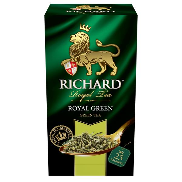 Чай Richard Royal Green 25пак*2г  конверт (сашет)