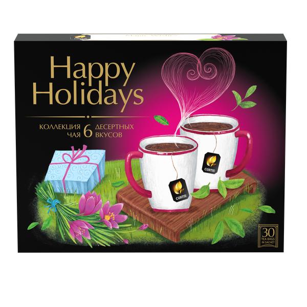Чай Кертис Desert Tea Collection 30пак*2г конверт (сашет)