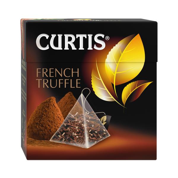Чай Кёртис French Truffle черный 20пак*1,8г конверт (пирамидки)