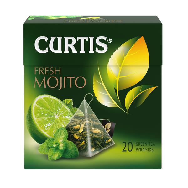 Чай Кертис Fresh Mojito 20пак*1,7г конверт (пирамидки)