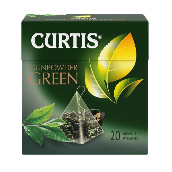 Чай Кертис Gunpowder Green зел.аромат. 20пак*1,8г