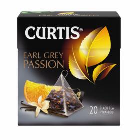 Чай Кертис Earl Grey Passion 20пак*1,7г (пирамидки)