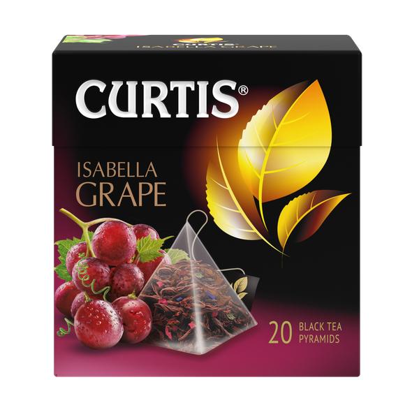 Чай Кертис Isabella Grape 20пак*1,8г (пирамидки)
