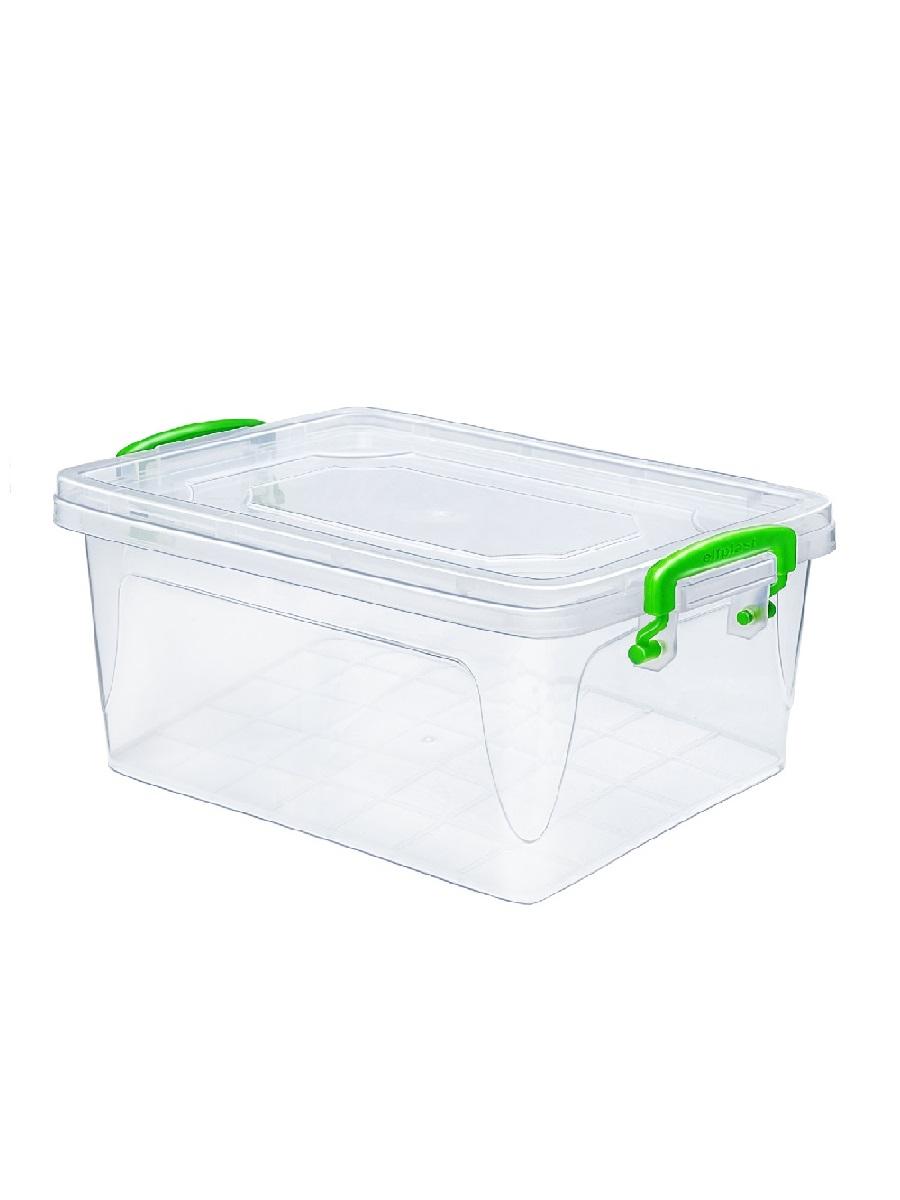 Контейнер для хранения Эльфпласт Fresh Box 13 литров с крышкой 41х28,5х17,5 см
