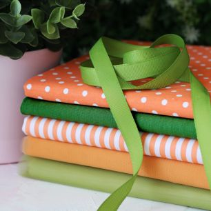 Набор тканей для пошива Лисичка