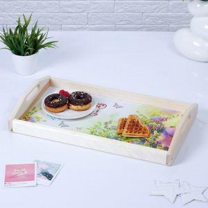 """Поднос для завтрака """"Любимой бабушке"""", МАССИВ, 50х7х29,5см 3814722"""