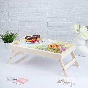 """Столик для завтрака складной """"Любимой бабушке"""", 48?28см 3812858"""
