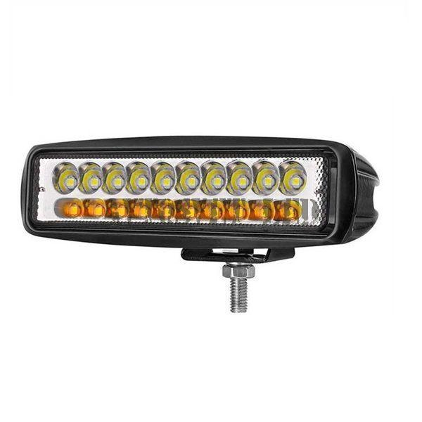 Фара светодиодная AS20L-60W SPOT желто-белый свет