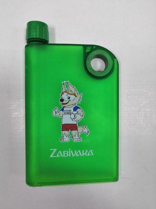 Пластиковая фляжка FLASK Zabivaka №99091 380мл*60