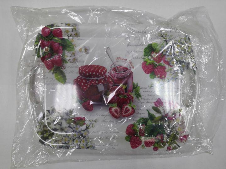 Поднос пластик 36х26х1,5см VETTA Урожай