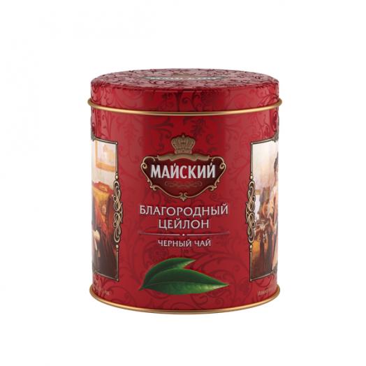 Чай Майский Благородный Цейлон ж/б 90г