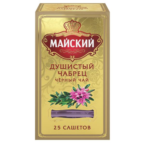 Чай Майский Душистый Чабрец 25пак*2г