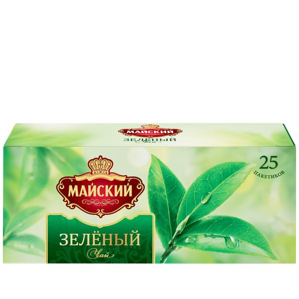 Чай Майский зеленый 25пак*2г