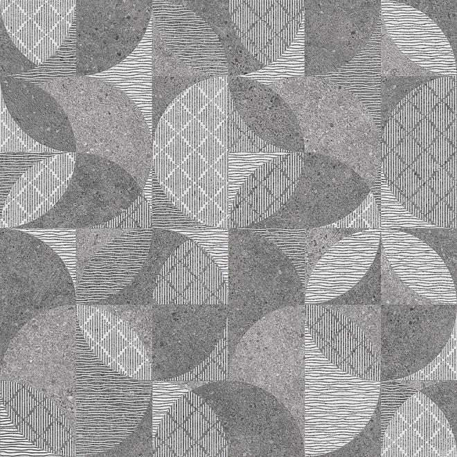 DL601000R | Фондамента серый декорированный обрезной