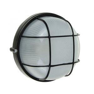 Светильник TDM НПБ1302, Е27, 60 Вт, IP54, круглый с решеткой, черный 2056138