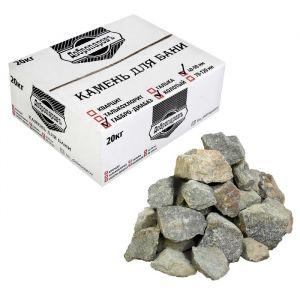 "Камень для бани ""Габбро-диабаз"" колотый для электрокаменки, ""Добропаровъ"" 20кг, 40- 90мм   3505820"